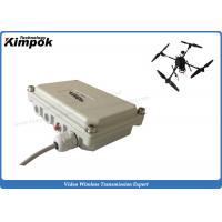 Buy cheap 100km LOS UAV Audio Video COFDM Wireless Transmitter And Receiver 5.8Ghz from wholesalers