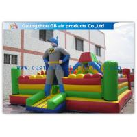 Buy cheap Superman Inflatable Jumping Bouncer Castle Sports Inflatable Bouncy Castle Combo from wholesalers