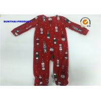 Buy cheap Fox Toe Cap Baby Boy Pram Suit 100% Polyester Micro fleece Coverall from wholesalers