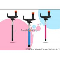 Buy cheap Mobile Phone Accessories Monopod Cable Take Pole Selfie Stick , Monopod Selfie stick from wholesalers