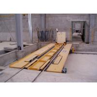 Buy cheap AAC Pouring Ferry Car Concrete Mixing Plant / AAC Block Machinery product