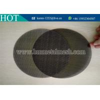 Buy cheap Plastic Extruder Screen and Mesh Filters from wholesalers