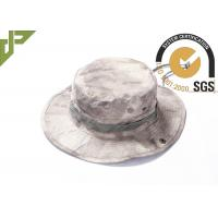 Buy cheap Ripstop Army Bucket Hat With String For Fishing , Desert Digital Camo Boonie Hat from wholesalers