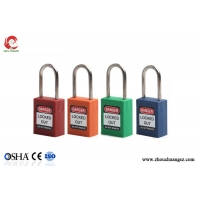 Buy cheap 38mm High Quality Steel Shackle ABS lock body Cheap Safety Padlocks from wholesalers