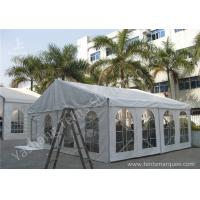 Buy cheap Transparent Soft PVC Windows Fabric Tent Structures with 10m by 10m from wholesalers