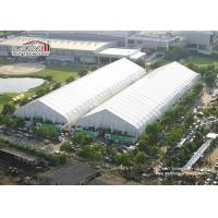 Buy cheap White Heat Resistant Storage Hangar Tent Waterproof Aluminum Prefabricated from wholesalers