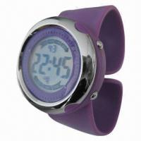 Buy cheap Slap Digital Watch with Silicone Band and Plastic Case, Cool Big Case Japan Movement from wholesalers