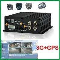 Buy cheap 3G+GPS+Wifi+6ch Alarm Input+RJ45 4channel HDD 3G Mobile DVR from wholesalers