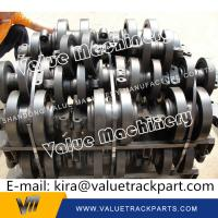Buy cheap Good Material Black Manitowoc Crawler Crane Top Roller Carrier Roller Upper Roller from wholesalers