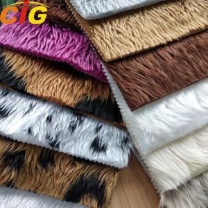 Buy cheap OEM Faux Fur Fabric Long Pile Faux Fur Fabric Weight 350-700gm product
