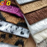 Buy cheap OEM Faux Fur Fabric Long Pile Faux Fur Fabric Weight 350-700gm from wholesalers