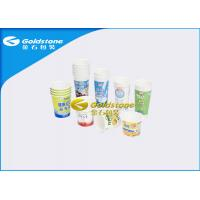 Buy cheap Various Specification Plastic Yogurt Cups For Fresh Milk / Desserts / Ice Cream from wholesalers