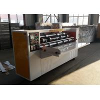 Buy cheap Thin Knife Slitting Carton Box Making Machine Iron And Steel Material from wholesalers