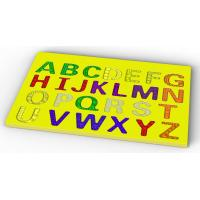 Buy cheap Capital letters silicone jigsaw puzzle from wholesalers