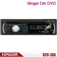 Buy cheap STC-135 Single Din Car DVD Player Support CD, USB, SD MMC Card 4CH*25W(7388 IC) from wholesalers