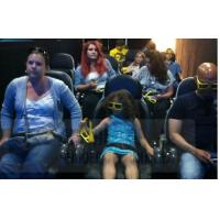 Buy cheap Dynamic 4D Motion Theater Chair With Movement / Vibration Effect product