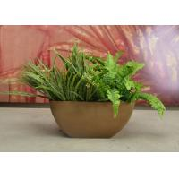 Buy cheap UV Resistant Window Flower Planters , Stackable Small Plastic Plant Pots from wholesalers