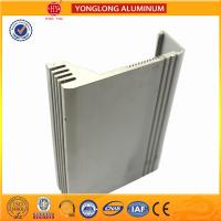Buy cheap Silver / Bronze Aluminum Extrusion Profiles For Building Heat Insulation from wholesalers