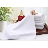 Buy cheap Luxury Embroidery Logo Hotel Facial Towel Plain White Bath Towel Sheet 100% Cotton from wholesalers