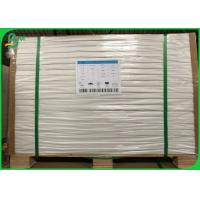 Buy cheap Custom Size 50G Sheet White Offset Paper / Uncoated Bond Paper With 610 * 860MM from wholesalers
