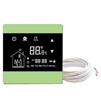 Buy cheap Underfloor heating wall thermostats floor heating thermostat controller with touch screen with NTC sensor from wholesalers
