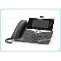 Buy cheap 5 High Resolution CP-8845-K9 Cisco IP Video Phone 8800 WVGA Voice Mail CE Standard from wholesalers
