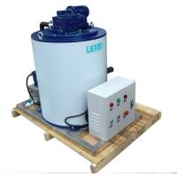 Buy cheap Industrial Flake Ice Evaporator PLC Control System 910*8680*1050mm from wholesalers