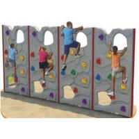 Buy cheap Customized Color Kids Plastic Climbing Wall For Park Environmental Protection from wholesalers