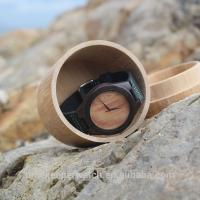 Buy cheap Good design black sandalwood watches with veneer face , mens wooden watch ,cheap price wood watches from wholesalers