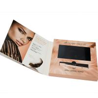 Buy cheap VIF Free Sample  Hard Cover Digital 7 inch HD LCD  screen Video Brochure For invitation advertising from wholesalers