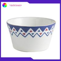 Buy cheap 5.5 Inch Handmade Porcelain Bowls , Hand Painted Ceramic Bowls Stoneware from wholesalers