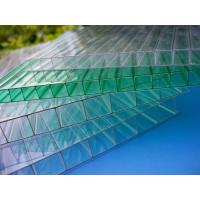 Buy cheap Impact Resistance Greenhouse 6mm Twin Wall Polycarbonate Sheet With UV Coated from wholesalers