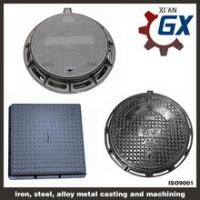 Buy cheap Buy Sewer Heavy Duty Ductile Iron Square And Round Manhole Cover And Frame En124 d400 from wholesalers