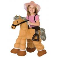 Buy cheap Ride a Pony Child Costume Carry Me Mascot Fancy Dress for Party from wholesalers