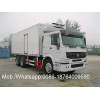Buy cheap Thermo King Side Door Refrigerated Close Van Truck Sinotruk Howo 6x4 25T from wholesalers