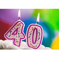 Buy cheap Handmade Purple Number Birthday Candles For Decoration 100% Paraffin product