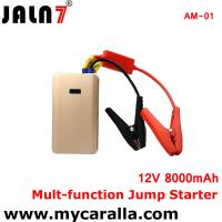 China JALN7® 8000mAh Portable Car Jump Starter Charger Mobile Auto Engine Emergency Batter on sale