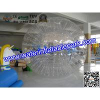Buy cheap Adults Grass Inflatable Zorb Ball , Inflatable Grass Zorb Ball  2.8m x 1.8m from wholesalers