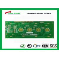 Buy cheap Key board PCB 2layer FR4 1.6mm surface plating gold  trace 4/4mil from wholesalers