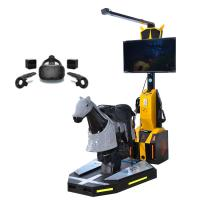 Buy cheap 2100*1000mm VR Horse Simulator Customized Color For Amusement Park from wholesalers