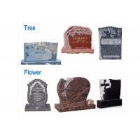 Buy cheap Various Shape Granite / Marble Headstones For Graves , Angel Headstones For Graves from wholesalers