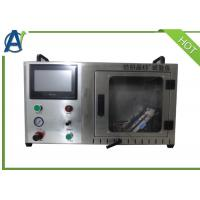 Buy cheap ASTM Textile Test Equipment , Under 45 ° Combustion Test Equipment from wholesalers