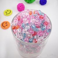 Buy cheap Acrylic bicone round lucid Beads 8mm from wholesalers