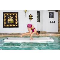 Buy cheap DWF Inflatable Yoga Mat , Commercial Balance Training Floating Tumbling Mat from wholesalers