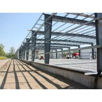Buy cheap Different Section Building Steel Frame With Normal Painting from wholesalers