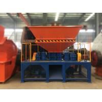 Buy cheap Henan Ling Heng LHSSM-1500 Twin-Shaft Shredder Machine widely used in area of waste plastic, waste rubber, wood, crop from wholesalers