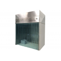 Quality Laminar/Vertical Air Flow Sampling / Weighing Booth Stainless Steel Cabinet for sale