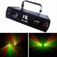 Buy cheap Double Lens Fan Cooled RGY Laser Stage Light with Blackout Function, Supports DMX from wholesalers