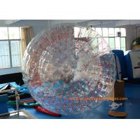 Buy cheap 2.8*1.8m Transparent Inflatable Zorb Ball Inflatable Pool Zorb Hamster Ball from wholesalers