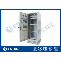 Buy cheap IP65 Thermostatic 19 Equipment Outdoor Telecom Enclosure / Environment Monitoring System from wholesalers